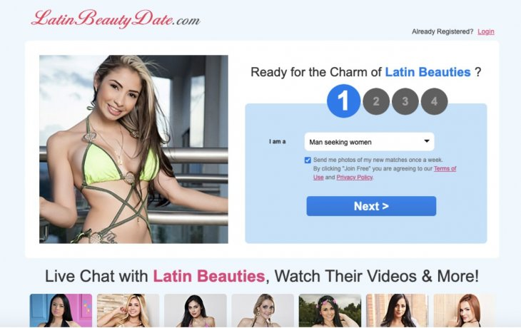 teen latina websites